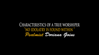 No Idolatry Is Found Within